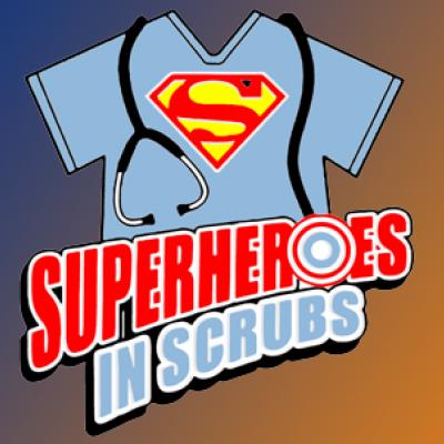 superheros in scrubs