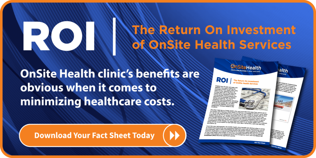 OnSite Health ROI Fact Sheet