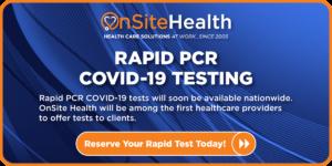Rapid PCR COVID Test