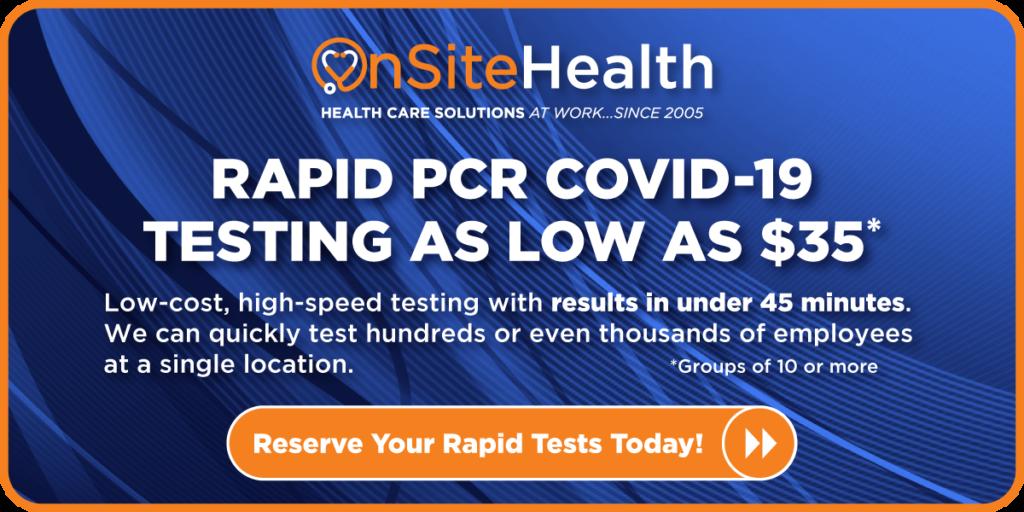 rapid pcr covid tests